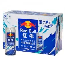 红牛 维生素功能饮料强化型250ml*24罐/箱