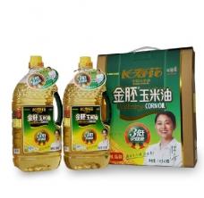 长寿花 金胚玉米油 礼盒 1.8L两瓶 非转基因产品
