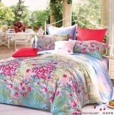 阿思家家纺 贡缎四件套 多花色床上用品4件套特价 1.5 1.8 米