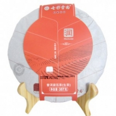 七彩云南 普洱茶(润系列)普洱生茶 357克/片