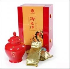 御牌正宗西湖龙井茶高档礼盒 绿茶 明前特级春茶2015新茶御梅150g