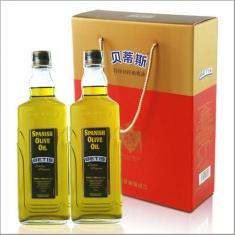 西班牙进口【贝蒂斯】特级初榨橄榄油750ml*2礼盒