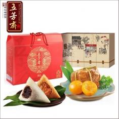 五芳斋礼品粽|丰年五芳礼盒 中华老字号