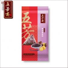 五芳斋【紫米栗蓉粽】100g*2个/袋  粽子团购