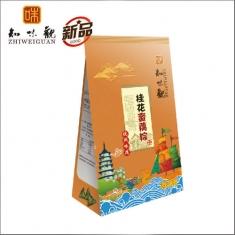 杭州粽子团购 知味观粽子【桂花蜜藕】200克 礼袋团购