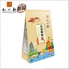 杭州粽子团购 知味观粽子【双味腊肠】200克 礼袋团购