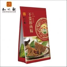 杭州粽子团购 知味观粽子【干菜扣肉粽280克】礼袋团购