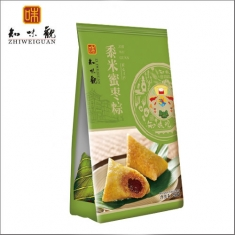 杭州粽子团购 知味观粽子【黍米蜜枣粽280克】礼袋团购