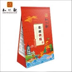 杭州粽子团购 知味观粽子【东坡肉粽】200克 礼袋团购