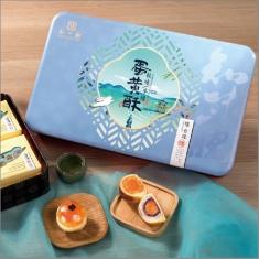 月饼团购 知味观【懂食缘--蛋黄酥】铁盒官方标准礼盒