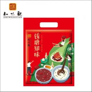 杭州粽子团购 知味观粽子【钱塘知味】礼袋团购