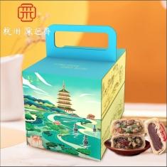 月饼团购 采芝斋【忆江南】苏月 官方标准月饼礼盒